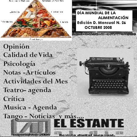 EDICIÓN DIGITAL MENSUAL N. 26 - OCTUBRE 2008